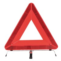 Triangle de signalisation orange PORTWEST
